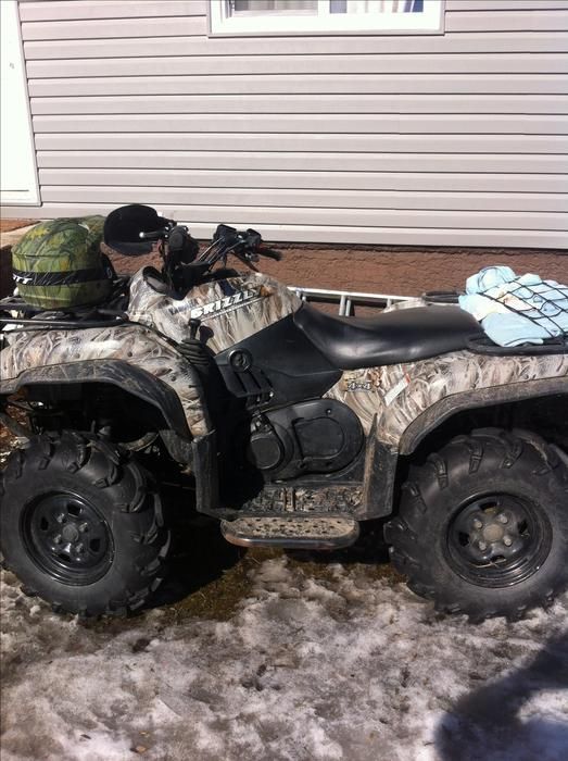2006 yamaha grizzly 660 yorkton regina mobile for 2006 yamaha grizzly 660 value
