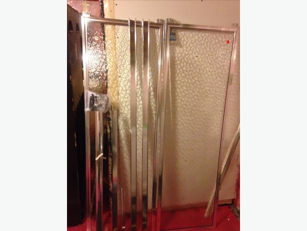 for sale sliding bypass rain glass door west regina regina. Black Bedroom Furniture Sets. Home Design Ideas