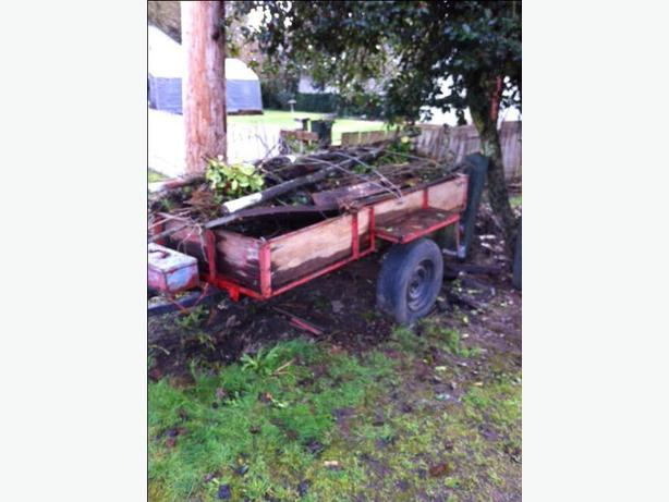 UNWANTED UTILITY TRAILER IN YOUR YARD?