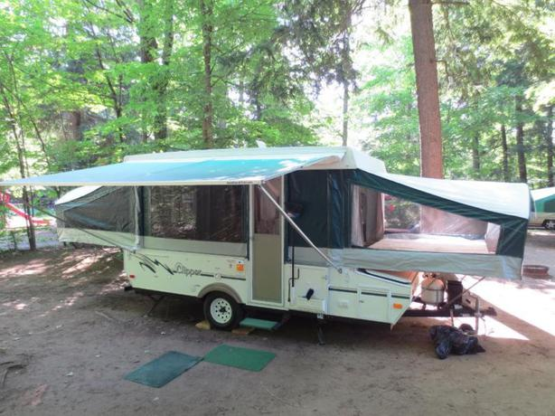 2004 tent trailer with pop out shower amp toilet West  : 46019259614 from usedottawa.com size 614 x 460 jpeg 58kB