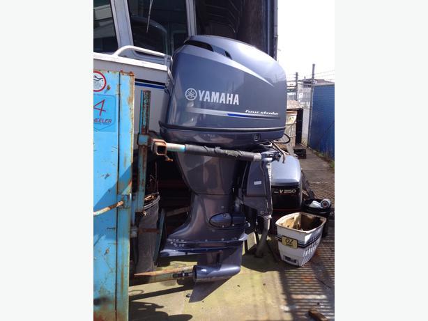 2012 yamaha f115 outboard motor north saanich sidney