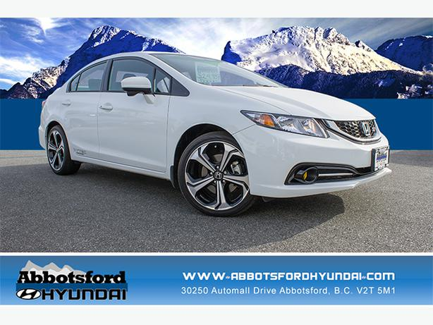 2014 honda civic si w navigation 6 speed manual. Black Bedroom Furniture Sets. Home Design Ideas