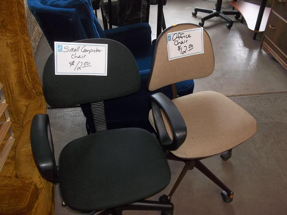 Was 12 Office Computer Chairs For Sale At St Vincent De