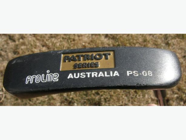 PRO LINE PATRIOT SERIES PS-08 PRO Type Right Hand Putter VGC