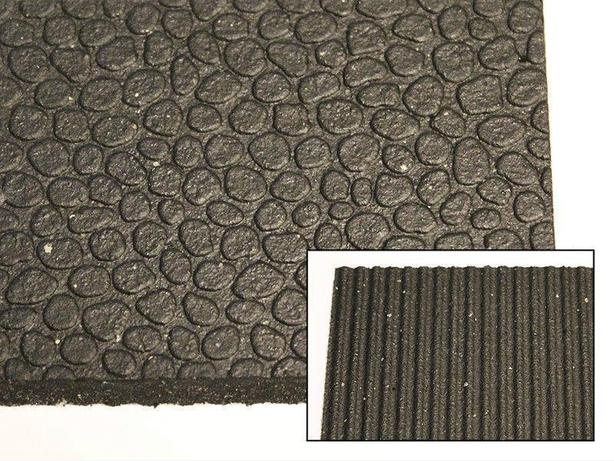 "4' x 6' x 1/2"" Horse Mats - NEW! Durable Revulcanized Rubber"