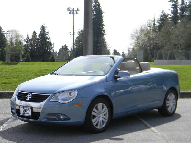 2008 volkswagen eos 2 0l turbo convertible surrey incl white rock maple ridge. Black Bedroom Furniture Sets. Home Design Ideas