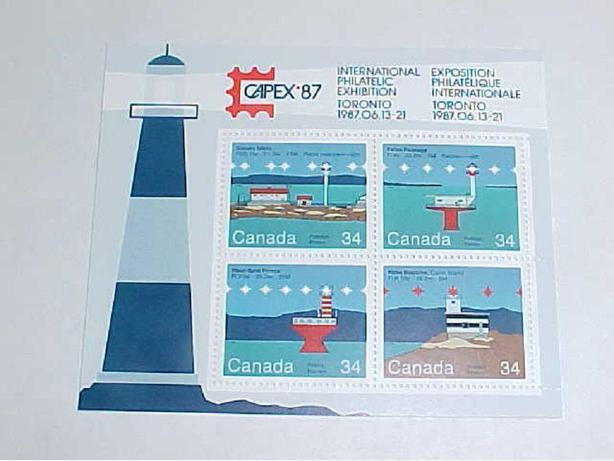 SCOTT 1063 TO 1066 CANADIAN LIGHTHOUSES