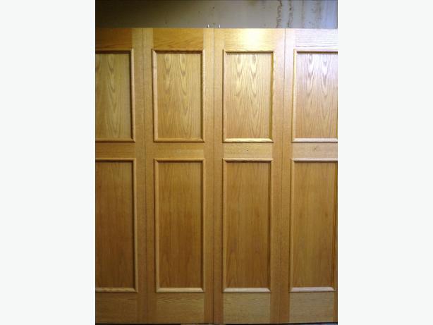 Oak Bifold Closet Doors : Custom oak closet doors qualicum nanaimo