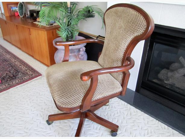 Bombay Serengeti Upholstered Wood Office Chair