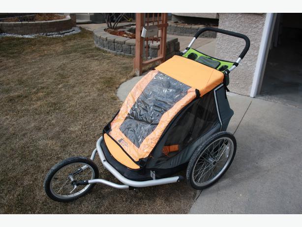 Mec Dual Jogging Stroller That Converts To A Bike Trailer St