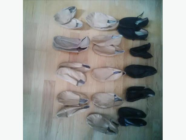 Jazz Shoes (Lots) Various Sizes and Colors