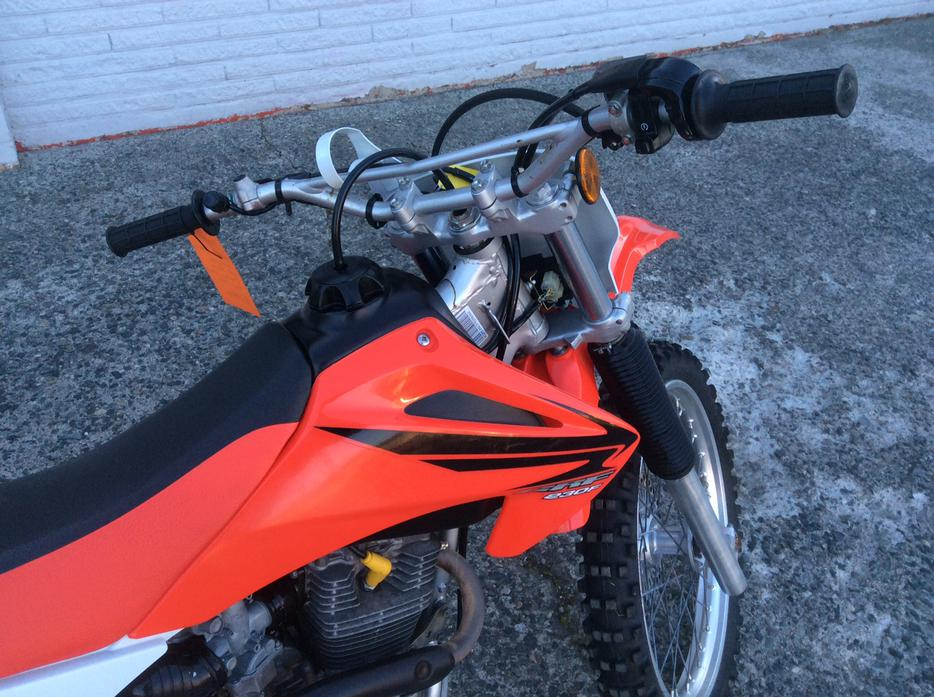 2007 honda crf230 like new 20hrs full service central nanaimo parksville qualicum beach