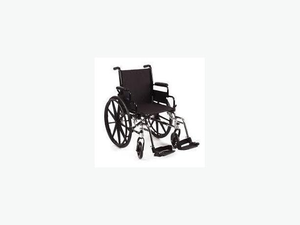 clean new condition 16x16 wheelchair