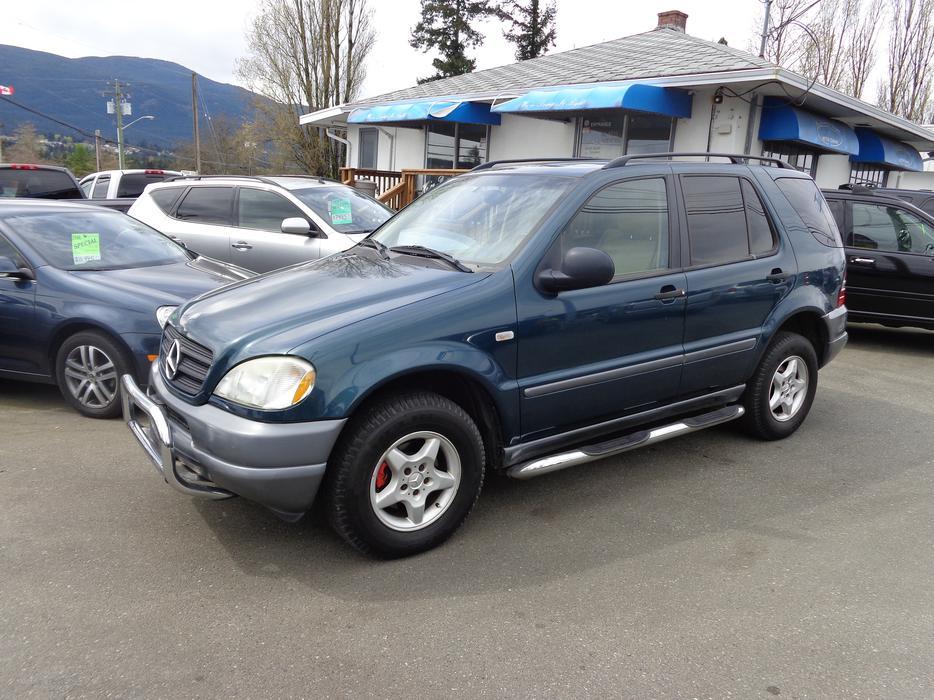 1999 mercedes benz ml320 4wd central nanaimo nanaimo for Mercedes benz nanaimo