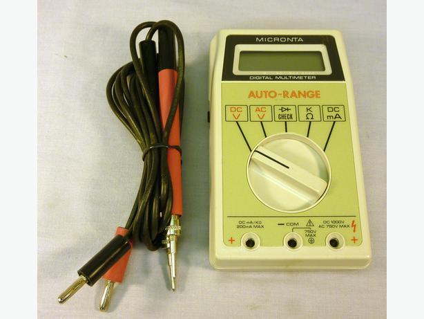 user manual micronta 22 188 rh filespsychokl cf Micronta Digital Multimeter Micronta Multimeter Manual
