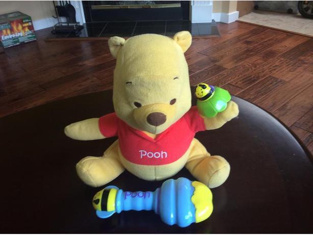Shake & Rattle Pooh Bear