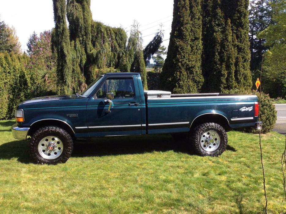 1993 Ford F250 4x4 Outside Nanaimo Parksville Qualicum Beach