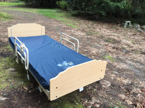 Adjustable Beds That Raise And Lower : Hospital type bed north nanaimo parksville qualicum beach