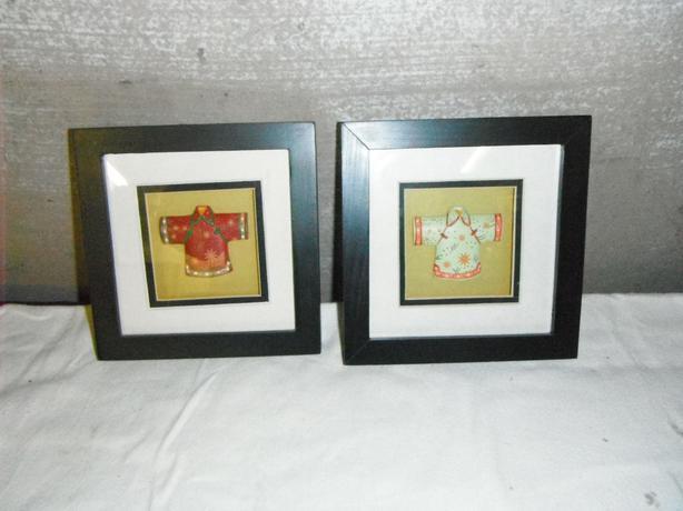 set of 2 komono pictures
