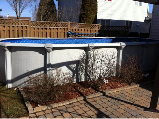 Swimming Pool Above Ground Gatineau Sector Quebec Ottawa