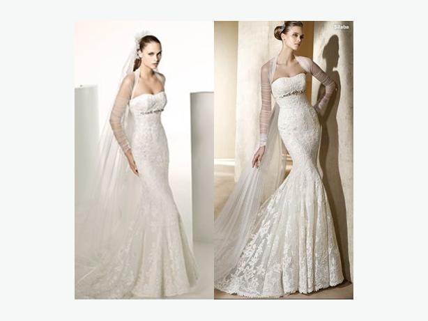 Mermaid Wedding Dresses Ottawa : Gorgeous mermaid all lace wedding dress imported from