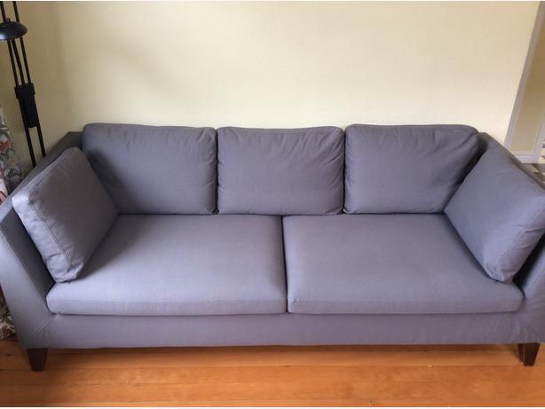 IKEA Stockholm Sofa In Rostanga Grey