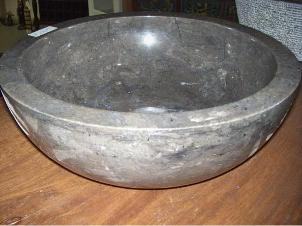 MARBLE,ROCK SINKS    also Hand painted porcelin sinks  New Container in