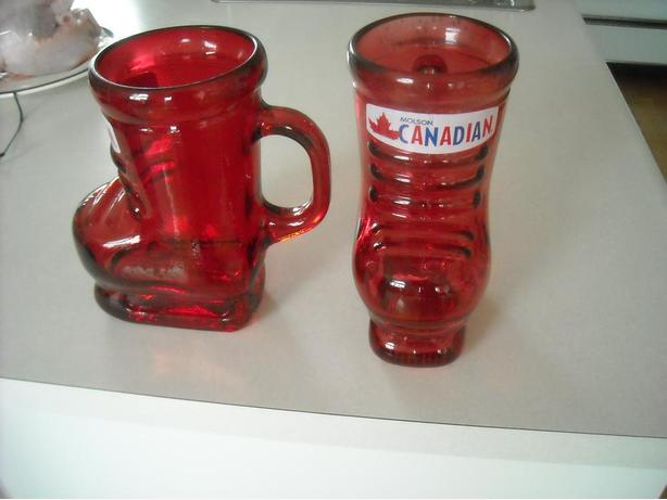 32 OZ. MOLSON CANADIAN SKI BOOT BEER MUG