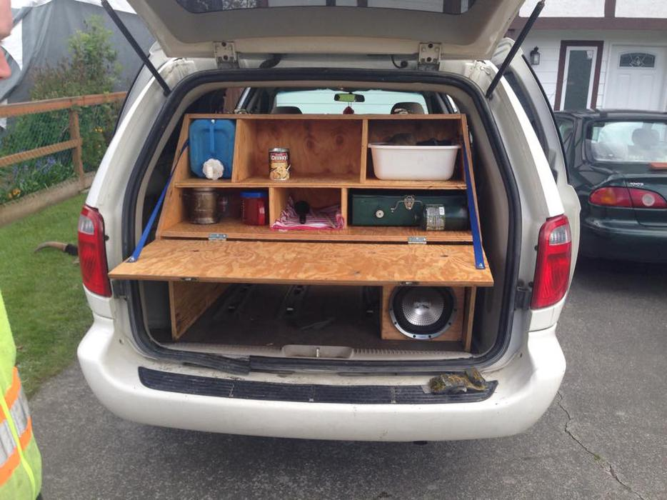 Slick Mini Van Camper Conversion Saanich Victoria