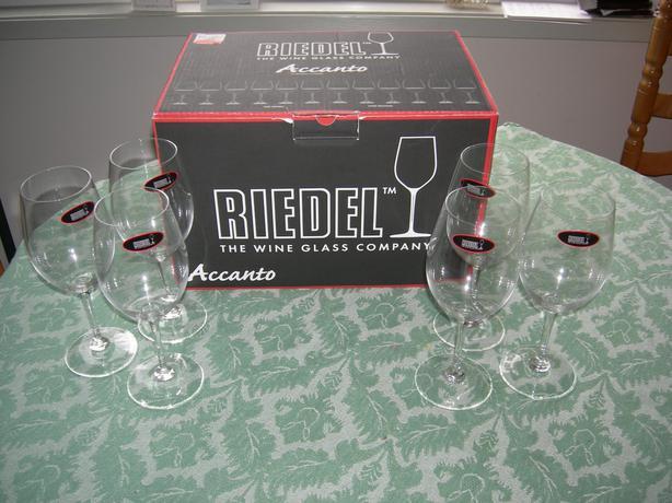 Six Brand New Riedel Red Wine Glasses Oak Bay Victoria