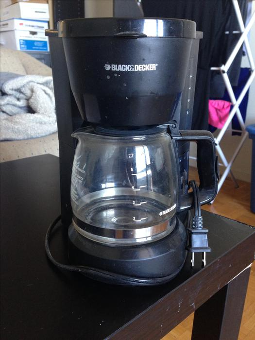 Black And Decker Coffee Maker Spring : For Sale: Black & Decker 5-Cup Coffee Maker + Delivery Central Ottawa (inside greenbelt), Gatineau