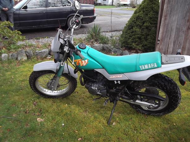 1990 Yamaha Tw200 With Papers Outside Nanaimo Nanaimo