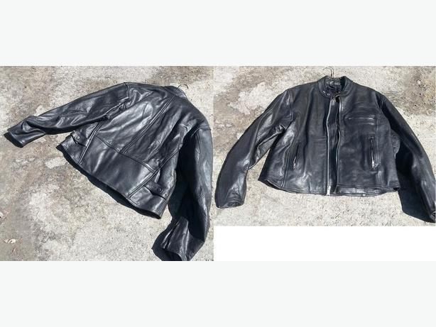 NEW -  (100% full cowhide) tick motorcycle jacket