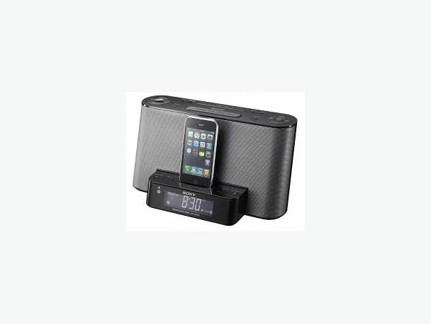 sony docking station alarm clock iphone 4 4s gloucester. Black Bedroom Furniture Sets. Home Design Ideas