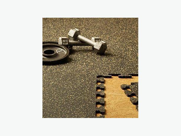 "BRAND NEW 2' x 2' x 3/8"" Interlocking Rubber Gym Mats!"