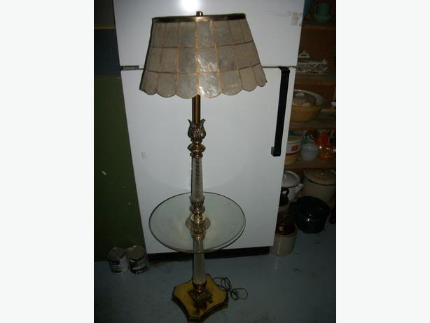 antique tray table floor lamp east regina regina