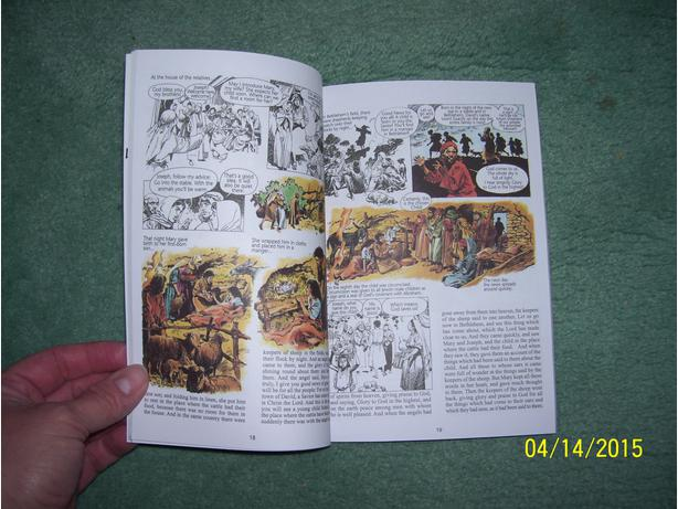 "NEW- Kids comic style Scriptures- ""Who is This Man Jesus"""