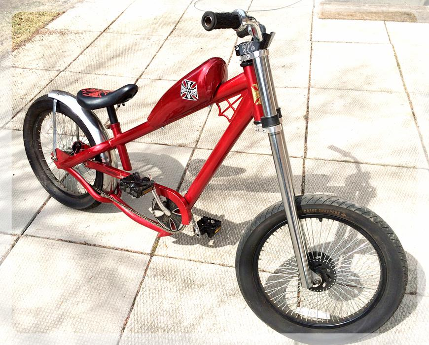 West Coast Chopper Jesse James Bicycle For Sale