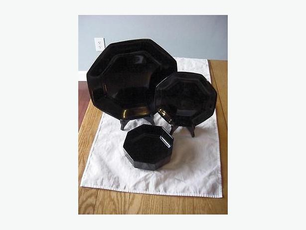 Arcoroc Octime Black Amethyst 4 Place Settings - 20 Pieces