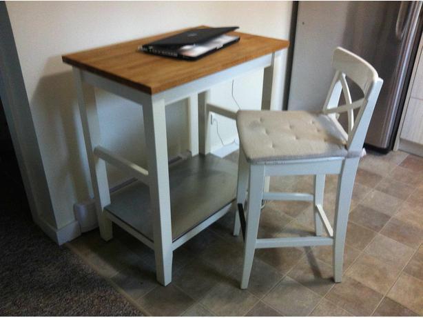 Ikea Stenstorp Kitchen Cart Or Island Saanich Victoria Stenstorp Kitchen  Island For Sale