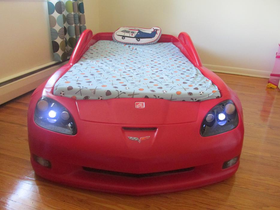 In conclusion, there's a lot to love about this bed from Step2. It's pretty clear that it's a piece of furniture largely targeted at young boys and racing enthusiasts. That being said, we love how well made it is, despite the large price tag. The Step2 Corvette Bed with Lights is a sure fire way to make any racing fan's dreams come true.