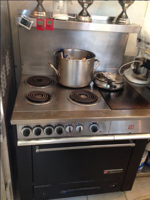 Flat Top Electric Stove ~ Garland electric stove and flat top outside nanaimo