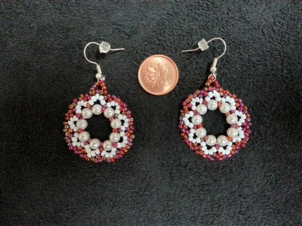 Wreath Bead Earrings