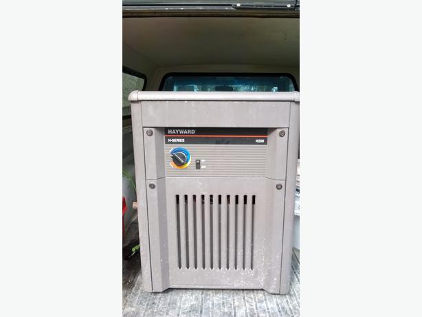 Hayward h2oo natural gas pool heater north regina regina for Heat pump vs gas heaters for swimming pool reviews