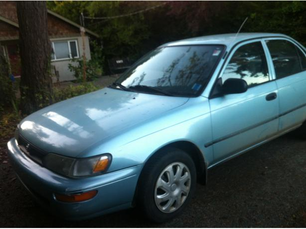 1995 toyota corolla for sale victoria city victoria. Black Bedroom Furniture Sets. Home Design Ideas