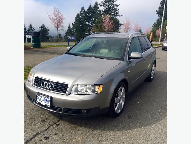 2004 audi a4 avant wagon 3 0 v6 quattro automatic outside victoria victoria. Black Bedroom Furniture Sets. Home Design Ideas