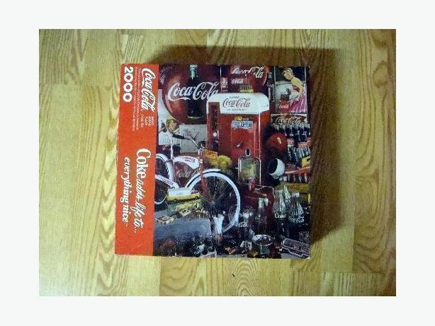 Like New 2000 Piece Coke Puzzle - Excellent Condition! $15
