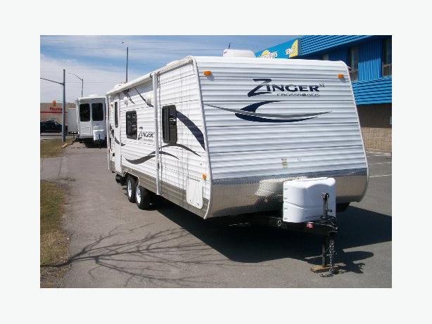 2012 Travel Trailer Crossroads Zinger 25RB Kingston, Kingston