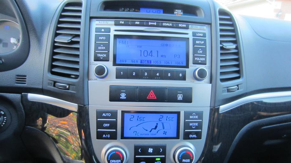 2009 Hyundai Santa Fe Limited Awd Central Ottawa Inside