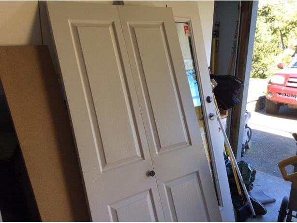 Bifold closet door saanich victoria for 15 inch wide closet door